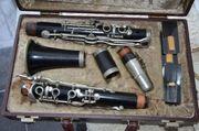 Klarinette von Hans Kreul gebaut