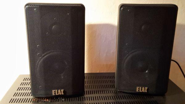 2x Elac Dipol » Boxen, Lautsprecher, Kopfhörer