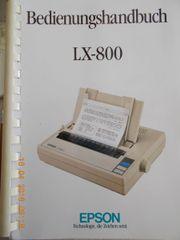 Drucker und Tastatur