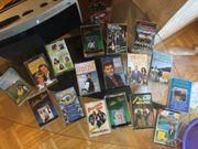 Kassettenrekorder mit verschiedenen Kassetten