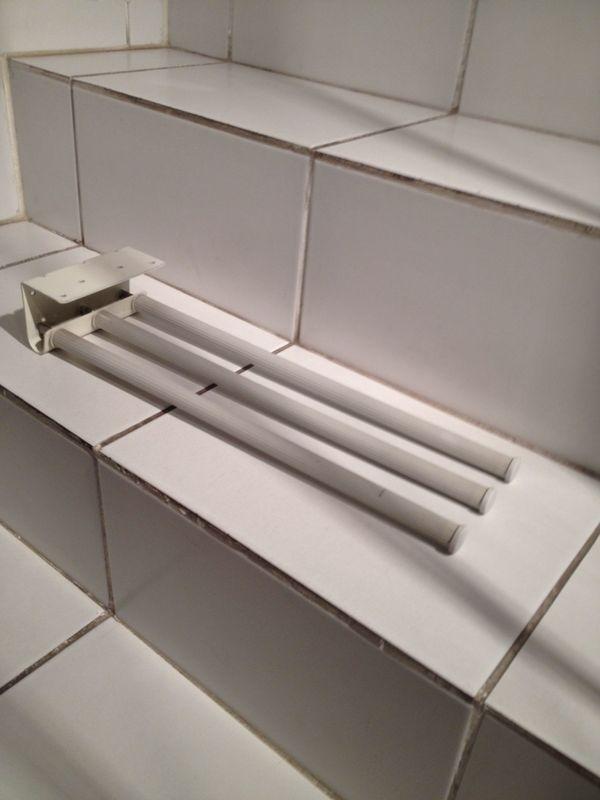 Handtuchhalter, ausziehbar, für Einbau in Küchenunterschränke... in ...