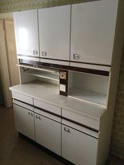 Küchenbüffet in weiß
