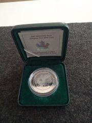 Silbermünze Kanada 2002