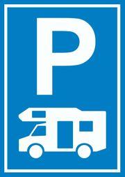 Parkplatz Wohnmobil Abstell Platz aussen