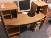 Schreibtisch mit Drehstuhl zu verkaufen