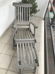 Liegestuhl/ Deckchair aus
