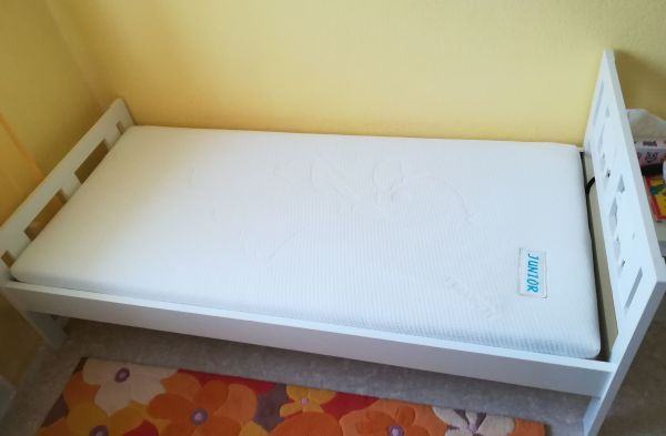 Kinderbett Ikea Kritter mit Ortho Junior-Duo Matratze LF 70x160 gebraucht kaufen  64347 Griesheim