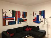 Triptychon - Bild Acryl auf Leinen