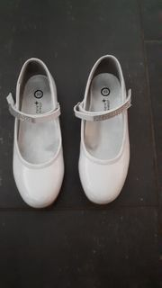 Ballerina Kommunion weiß Gr 32