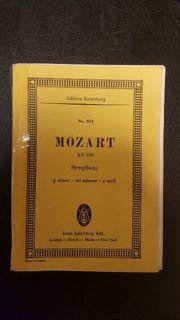 Mozart KV 550 Symphony g