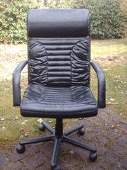 Schreibtisch-Sessel, Leder