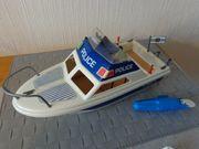 Spielzeug Playmobil Polizeiboot