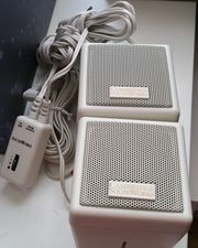 Kleine Würfel Computer-Lautsprecher Cambridge SoundWorks