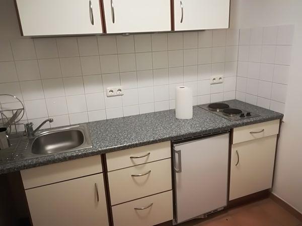 Singleküche, fast wie Neu, schon abgebaut - Darmstadt Bessungen - Ich verkaufe ein sehr gut erhalten Singleküche ,ist 230 cm breit, ist schon abgebaut,steht in Darmstadt und kann gegen Aufpreis geliefert werden.017651723508 - Darmstadt Bessungen