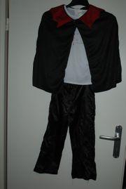 Dracula-Kostüm 4-teilig Gr S 4-6