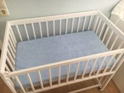 Babybett - Balkonbett zu