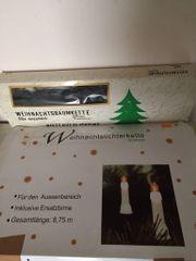 Lichterketten für Weihnachtsbaum