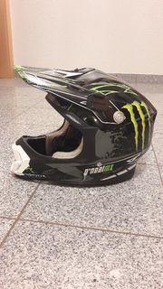 Moped/ Motocrosshelm