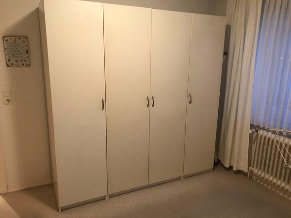 Ikea Schlafzimmer Bett+Schrank+Kl.Schrank in Hamburg - Schränke ...