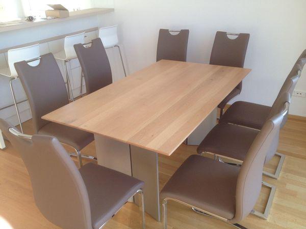 Esszimmer Tisch Und Stuhle Wossner Novara Superelegant Bequem