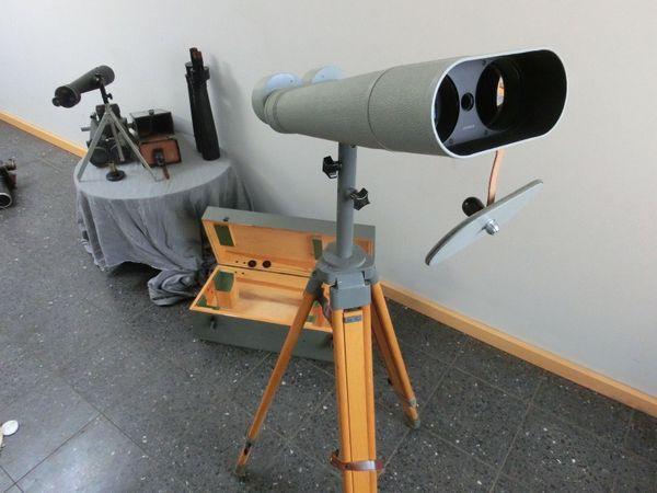 Zeiss Laser Entfernungsmesser : Carl zeiss jena asembi inklusive stativ filter und kiste