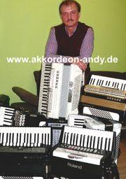 Akkordeonspieler in Bochum Borken Bad
