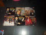 Sammlung LPs Claydermann