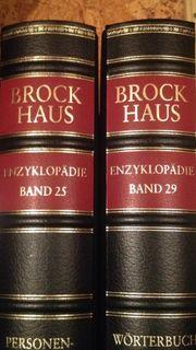 Brockhaus Enzyklopädie Goldschnitt Ausführung