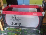 Kinder-Reisebett Jeep Klappmatratze