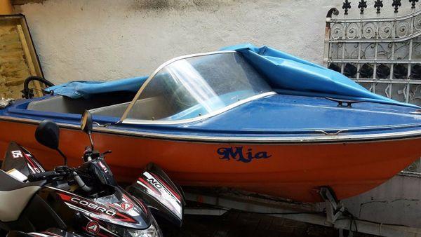 motorboot boot mit elektromotor trailer angelboot kein. Black Bedroom Furniture Sets. Home Design Ideas