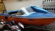 Motorboot Boot mit