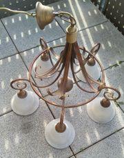 Nostalgie - Lampe 5 flammig