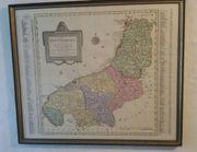 Kupferstich Landkarte Innviertel
