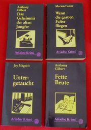 Bücher Ariadne Frauenkrimis 26 Stück