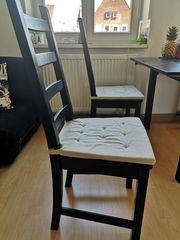 Ikea KAUSTBY vier Stühle mit