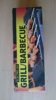 Elektrischer Barbeque Grill (