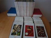 18 Kochbücher aus