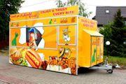 Verkaufsmobile Gastronomie Anhänger Foodtruck Imbissanhänger