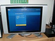 Flachbild Fernseher silber 20 Zoll