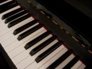 Klavierunterricht bei Dipl.