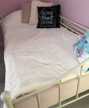 Lieblich Metallbett   Tagesbett   Weiß   90x200 Cm