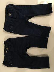 2x Jeans H M dunkelblau
