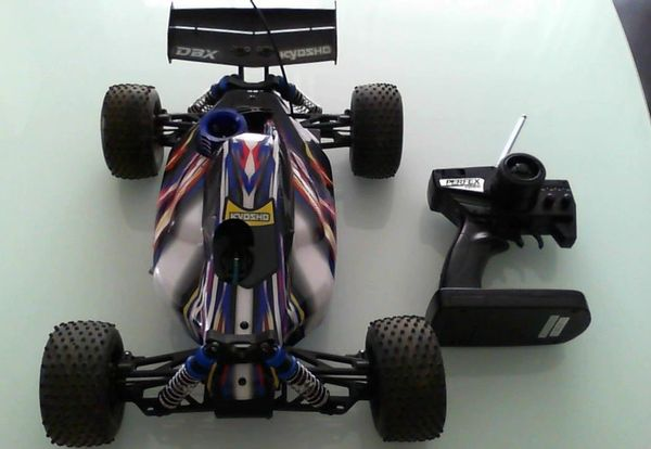 rc verbrenner kyosho dbx racing buggy gxr18 4wd. Black Bedroom Furniture Sets. Home Design Ideas