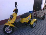 Roller Dreirad Mofa Moped Krankenfahrstuhl