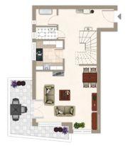 Stilvolle 3 Zimmer Maisonette-Wohnung in