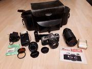 Asahi Pentax ME Kamera mit