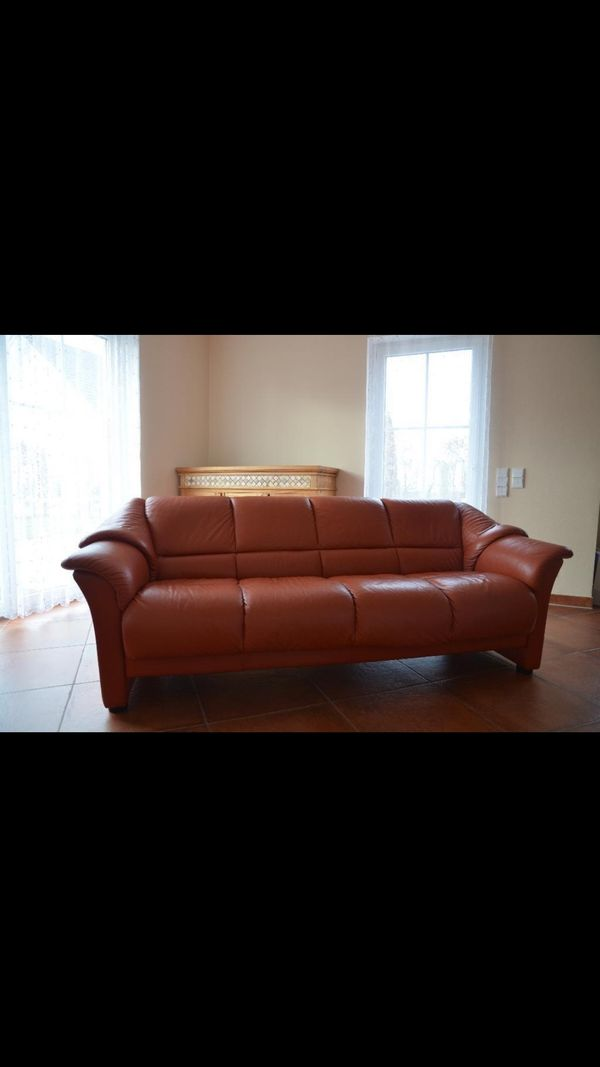 4 Sitzer Leder Couch Sofa Ekornes Stressless Np 7200 In