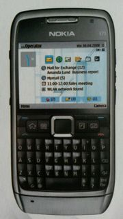 Nokia E71 Business Handy QWERTZ