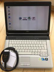 VcdsDiagnose Laptop Diagnosegerät Audi VW