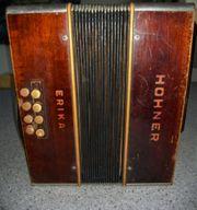 antike Harmonika Hohner Erika